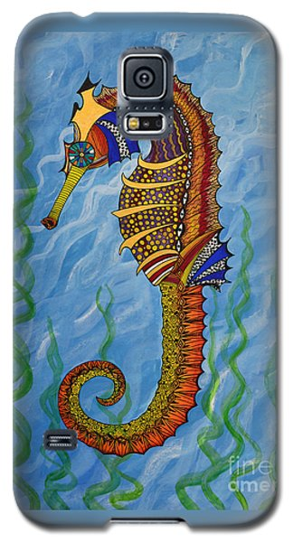 Magical Seahorse Galaxy S5 Case by Suzette Kallen