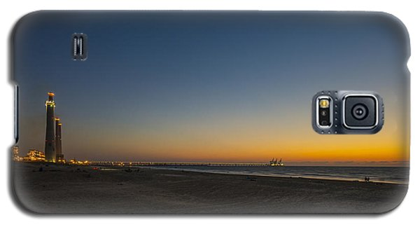 magical sunset moments at Caesarea  Galaxy S5 Case