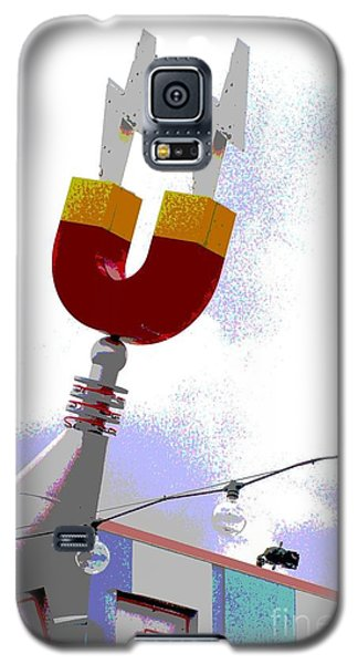 Magnetic Galaxy S5 Case by Valerie Reeves