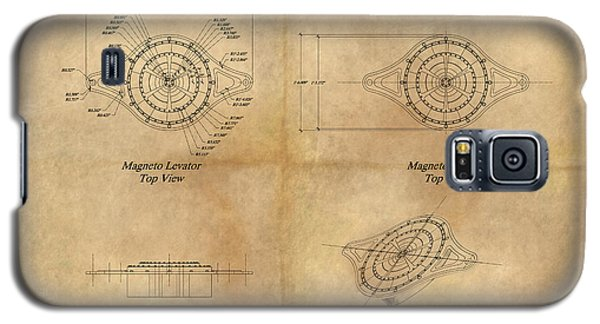 Magneto System Blueprint Galaxy S5 Case