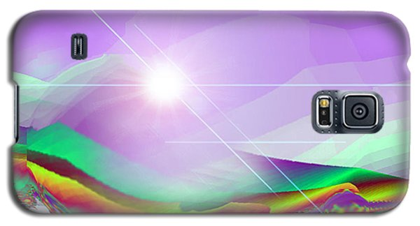 Galaxy S5 Case featuring the digital art Magnification by Ute Posegga-Rudel