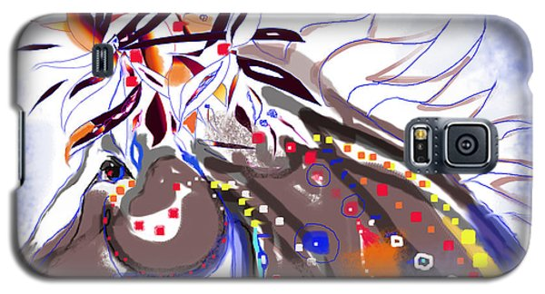 Magnificent Indian Pony Galaxy S5 Case by Mary Armstrong