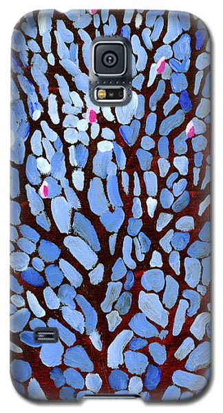 Galaxy S5 Case featuring the painting Magnificent Magnolia by Jo Appleby