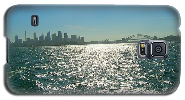 Galaxy S5 Case featuring the photograph Magnificent Sydney Harbour by Leanne Seymour
