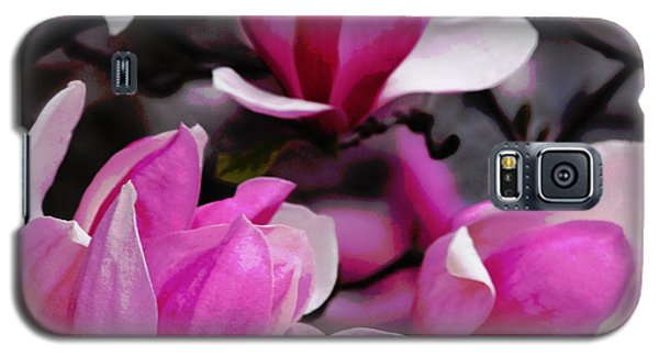Galaxy S5 Case featuring the photograph Magnolia Blossoms by Olivia Hardwicke