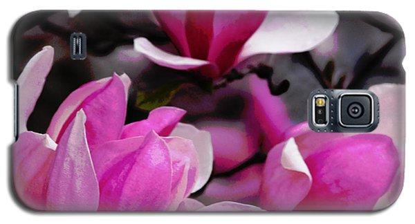 Magnolia Blossoms Galaxy S5 Case