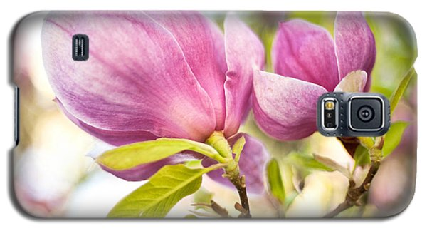 Magnolia Flowers Galaxy S5 Case