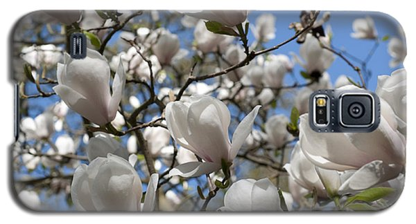 Galaxy S5 Case featuring the photograph Magnolia by Lana Enderle