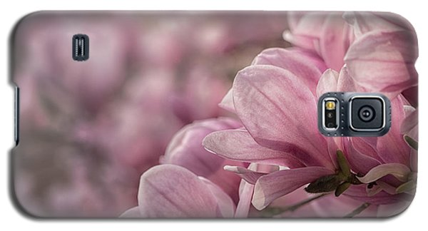 Galaxy S5 Case featuring the photograph Magnolia Layers by Rob Amend