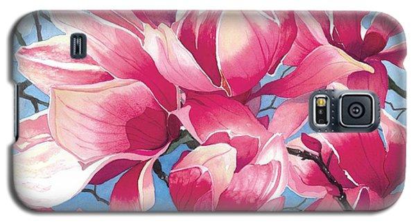 Magnolia Medley Galaxy S5 Case by Barbara Jewell