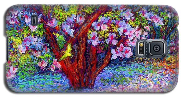 Lily Galaxy S5 Case - Magnolia Melody by Jane Small