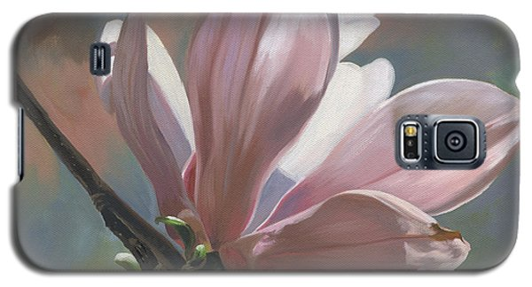 Galaxy S5 Case featuring the painting Magnolia Petals by Alecia Underhill