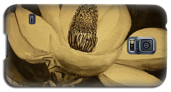 Magnolia Galaxy S5 Case by Therese Alcorn