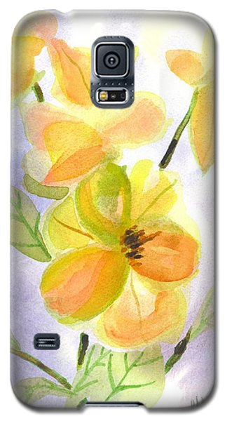 Galaxy S5 Case featuring the painting Magnolias Gentle by Kip DeVore