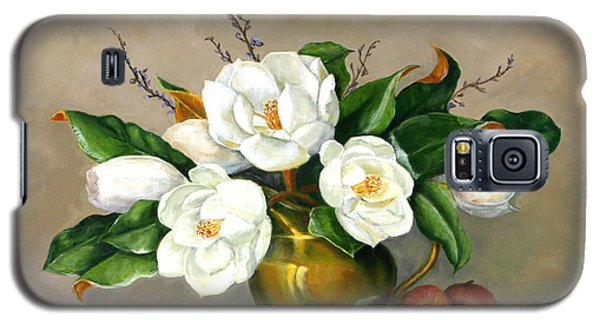 Magnolias - Southern Beauties Galaxy S5 Case by Sandra Nardone