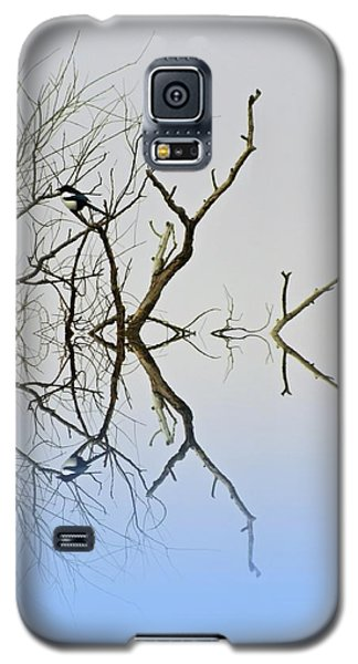Magpie Galaxy S5 Case by Sharon Lisa Clarke