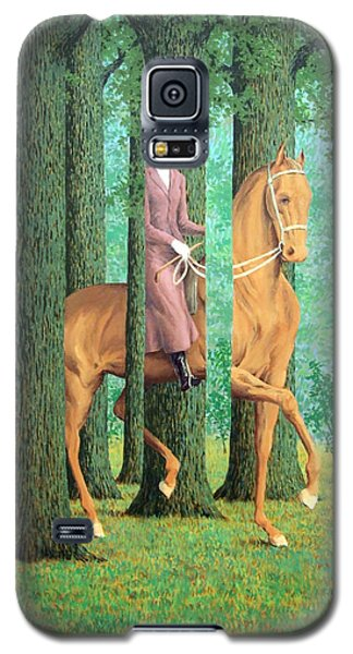 Magritte's The Blank Signature Galaxy S5 Case