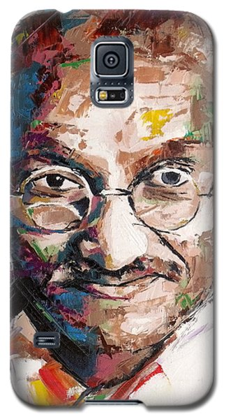 Mahatma Gandhi Galaxy S5 Case by Richard Day