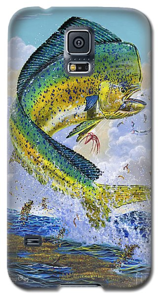 Mahi Hookup Off0020 Galaxy S5 Case by Carey Chen