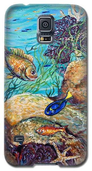 Maho Bay Left Galaxy S5 Case by Linda Olsen