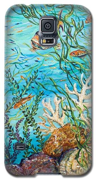 Maho Bay Right Galaxy S5 Case by Linda Olsen