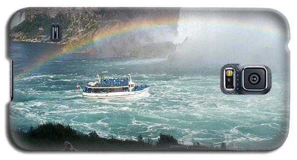 Galaxy S5 Case featuring the photograph Maid Of The Mist -41 by Barbara McDevitt