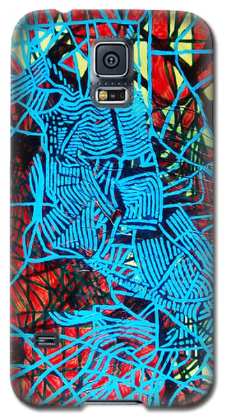 Maiden In Blue - Mary In The Temple Galaxy S5 Case