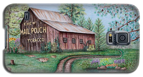 Mail Pouch Tobacco Barn Galaxy S5 Case