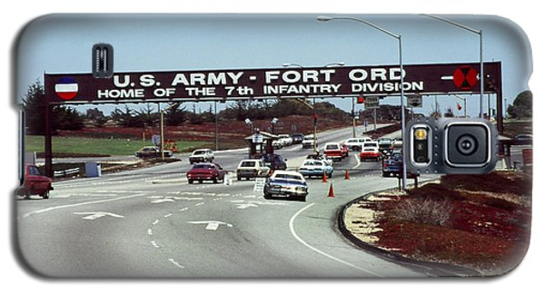 Main Gate 7th Inf. Div Fort Ord Army Base Monterey Calif. 1984 Pat Hathaway Photo Galaxy S5 Case