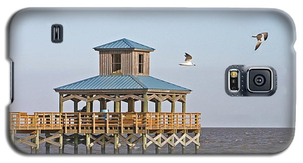 Main Pier At Pleasure Island Galaxy S5 Case by D Wallace