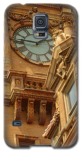 Main St Station Clock Tower Richmond Va Galaxy S5 Case by Suzanne Powers