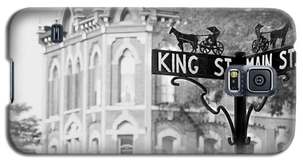 Galaxy S5 Case featuring the photograph Main St Vi by Courtney Webster