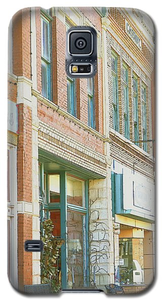 Main Street America Street Scene Photograph Galaxy S5 Case by Ann Powell