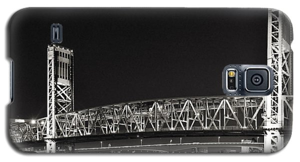 Main Street Bridge Jacksonville Florida Galaxy S5 Case by Christine Till