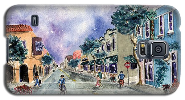Main Street Half Moon Bay Galaxy S5 Case