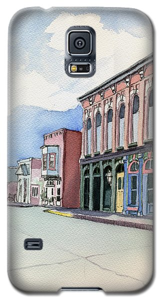 Main Street In Gosport Galaxy S5 Case