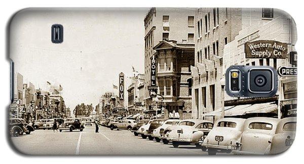 Main Street Salinas California 1941 Galaxy S5 Case