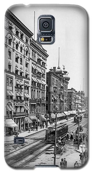 Main Street Springfield Galaxy S5 Case