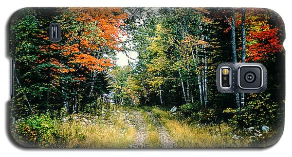 Maine Back Road Galaxy S5 Case