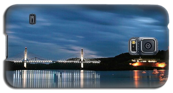 Maine Bridge And Fort Knox  Galaxy S5 Case by Barbara West
