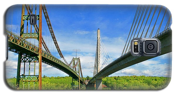 Galaxy S5 Case featuring the photograph Maine Bridges by Barbara West