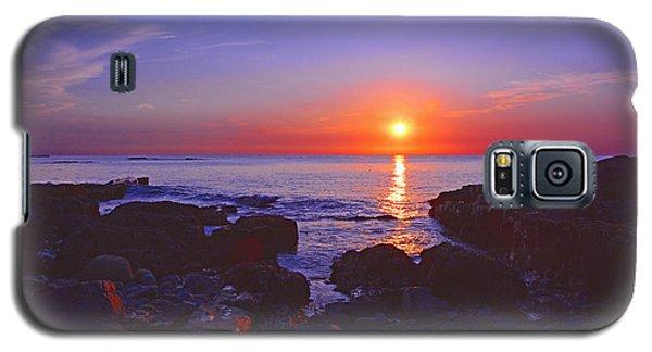 Maine Coast Sunrise Galaxy S5 Case