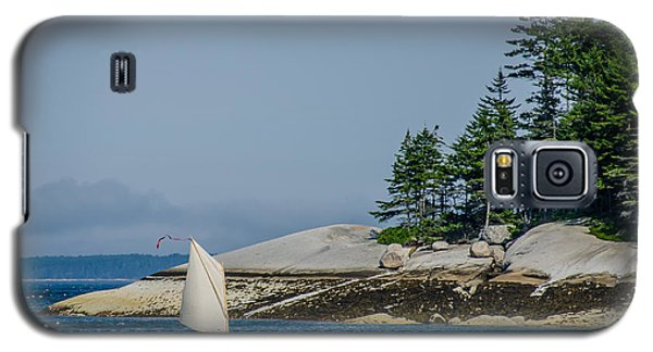 Maine Dinghy Sailing Galaxy S5 Case