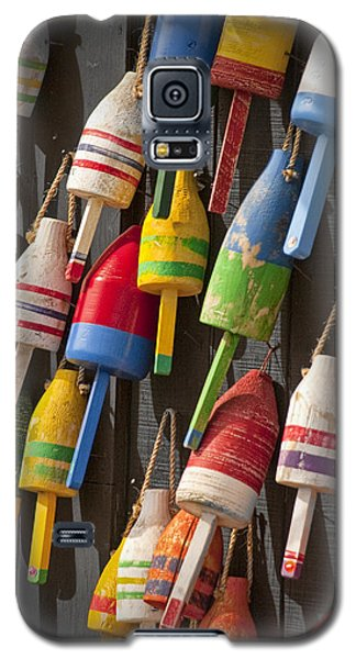 Maine Fishing Buoys Galaxy S5 Case