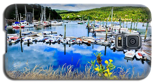 Maine Harbor Galaxy S5 Case