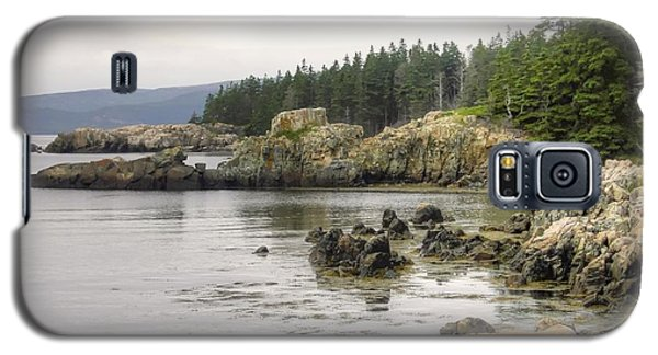 Maine's Beautiful Rocky Shore Galaxy S5 Case by Denyse Duhaime