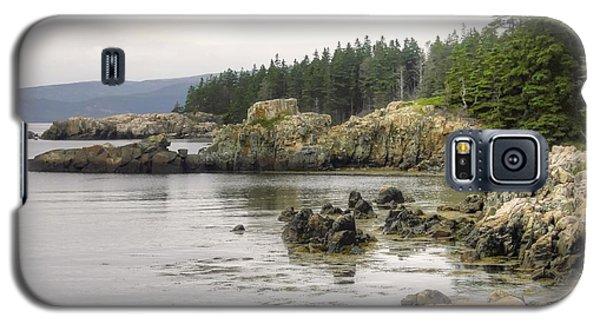 Maine's Beautiful Rocky Shore Galaxy S5 Case