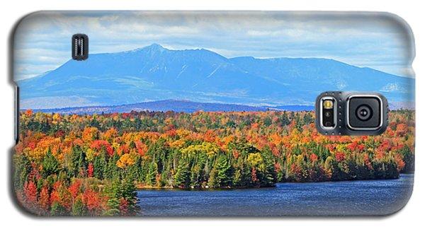 Maine's Mt. Katahdin In Autumn Galaxy S5 Case