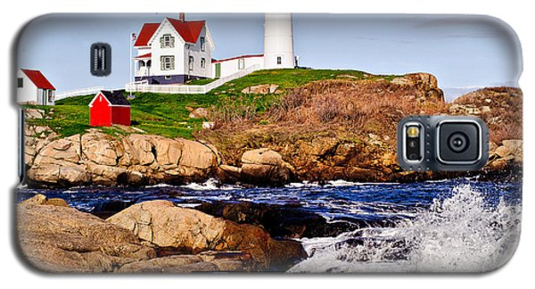 Maine's Nubble Light Galaxy S5 Case by Mitchell R Grosky