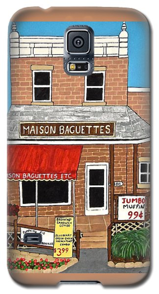 Maison Baguettes Galaxy S5 Case by Stephanie Moore